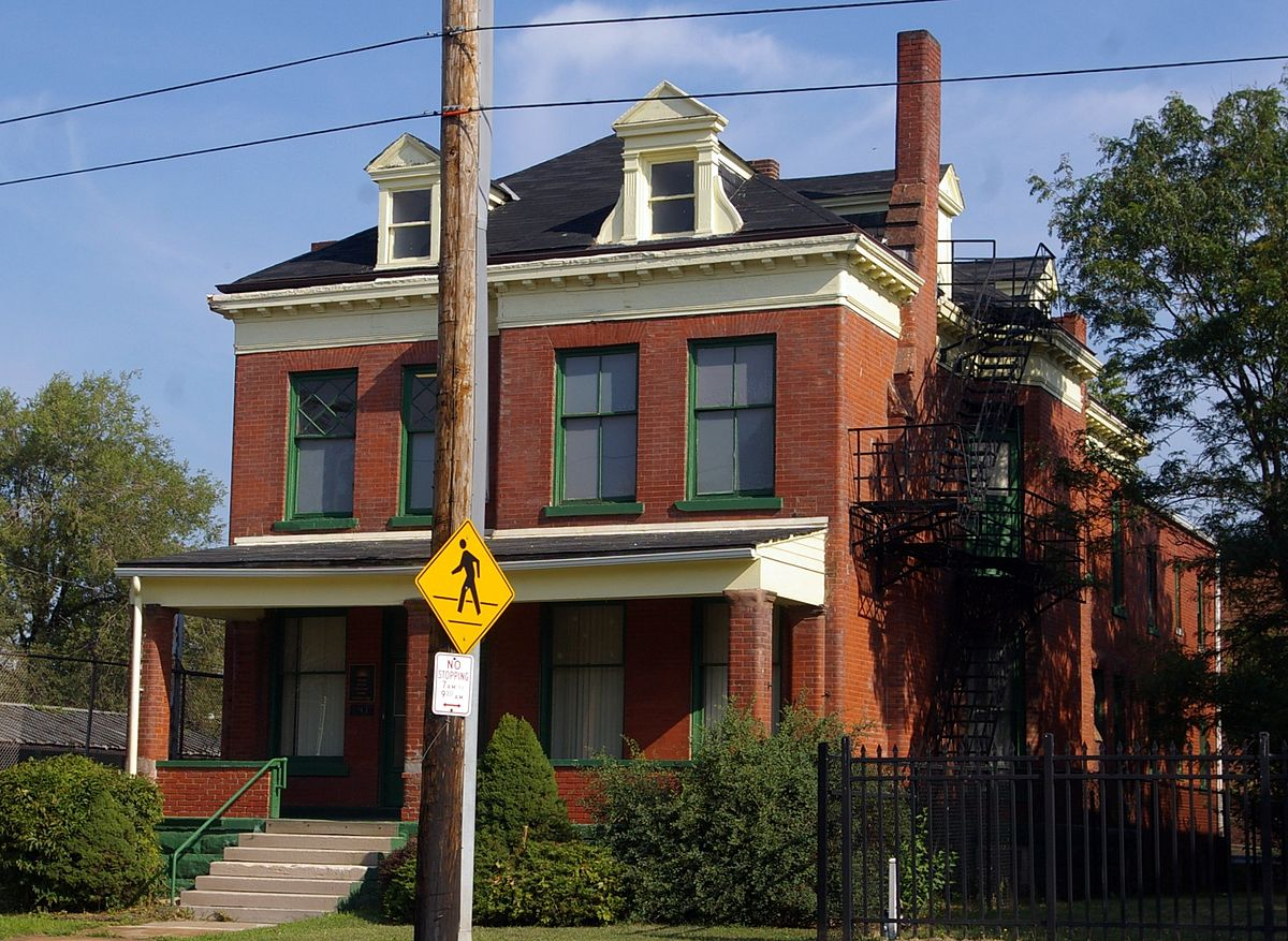 The original Cleveland Home For Aged Colored People on Cedar Avenue. Photo by Christopher Busta-Peck.