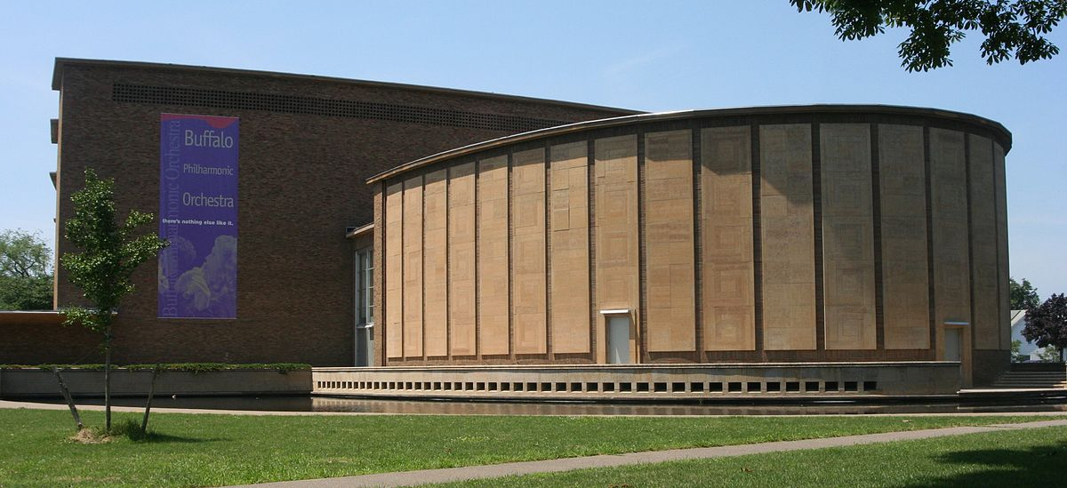 Kleinhans Music Hall opened in 1940 thanks to the generosity of Edward and Mary Kleinhans who bequeathed money for its construction.
