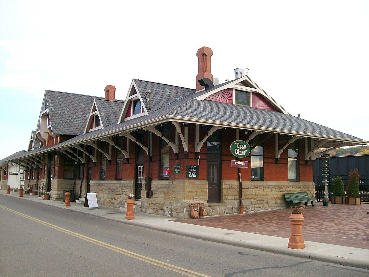 A view of the Depot.