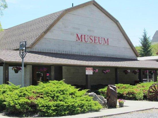 Museum's exterior.