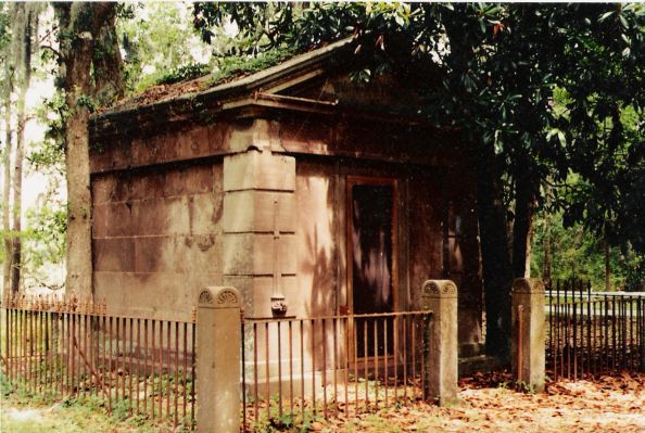 Built in 1846, the Baynard Mausoleum is the oldest structure still standing on Hilton Head Island.