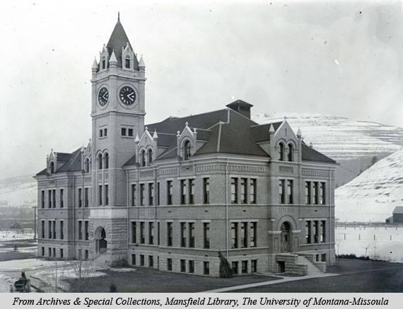 University Hall, ca. 1902
