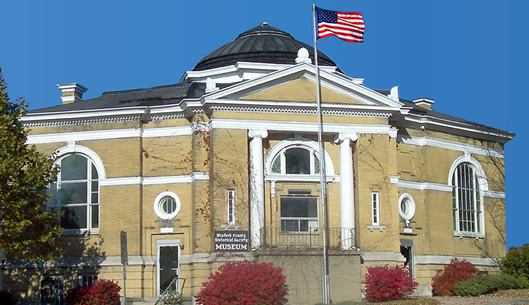 Wexford County Historical Society Museum / Carnegie Library as it appears today.