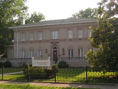 The Paris-Henry County Heritage Center, formerly Cavitt Place