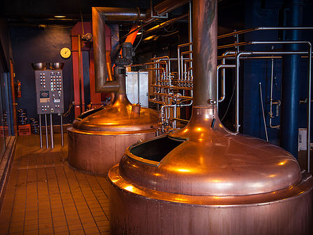 Inside of the Brewhouse