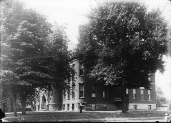 Mabel Hartzell taught first grade in 1899 at North Park School, built in 1892