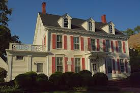 This historic home was completed in 1868.