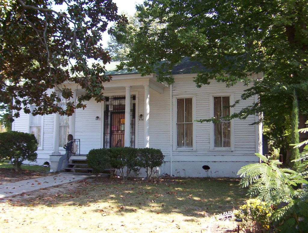 Cloaked away in secrecy, Jacob Burkle, a stockyard owner, likely operated an underground Railroad waystation on the outskirts of Memphis at this house.
