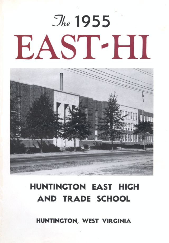 Cover of the 1955 yearbook