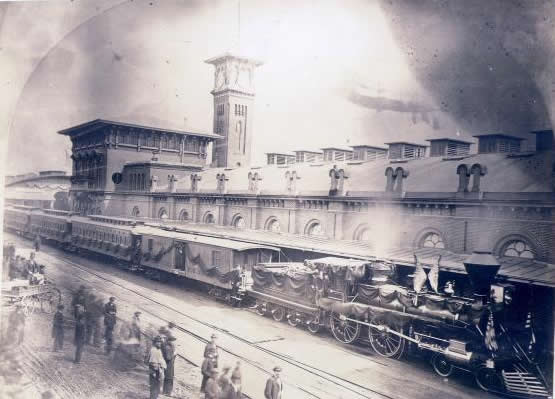 Abraham Lincoln Funeral Train