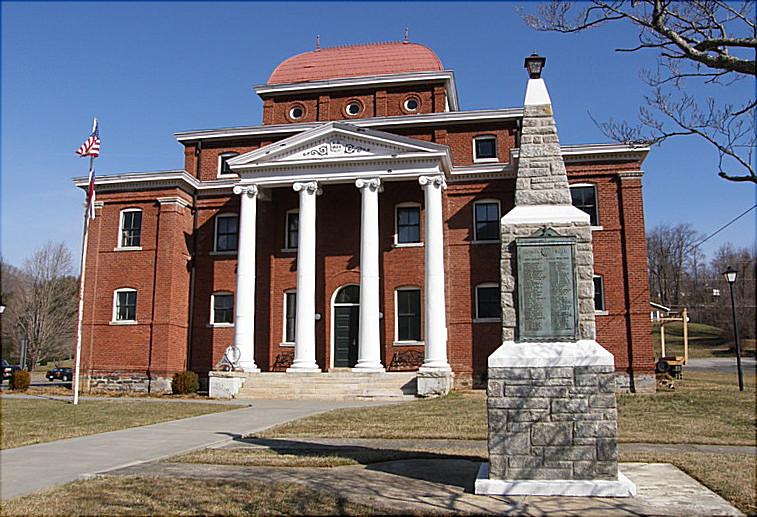 The Museum of Ashe County History, formerly the county courthouse