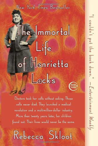 Learn more about Henrietta Lacks with Rebecca Skloot's best-selling book about her life and legacy-click the link below for more information about this book.