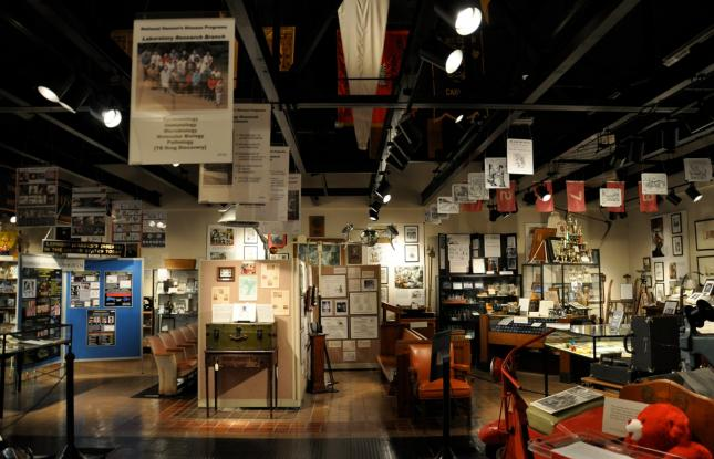 National Hansen's Disease Museum main exhibit room