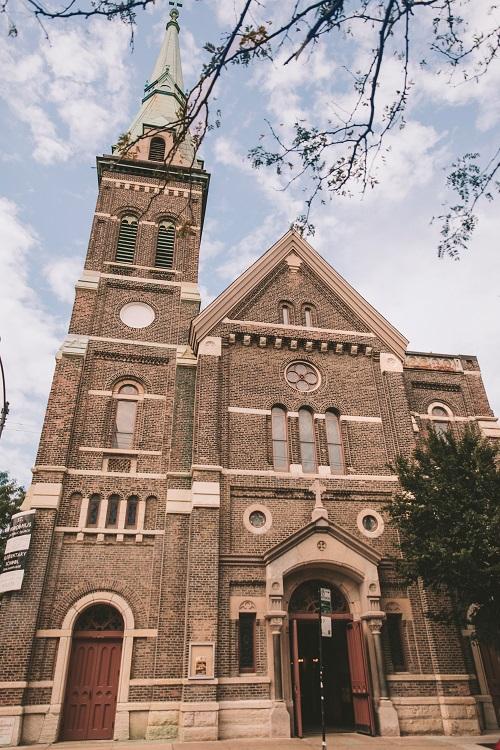 St. Procopius Church Entrance