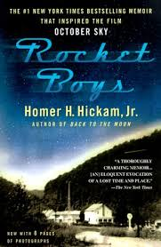 "The book cover for the ""Rocket Boys"" which was later changed to ""October Sky"""