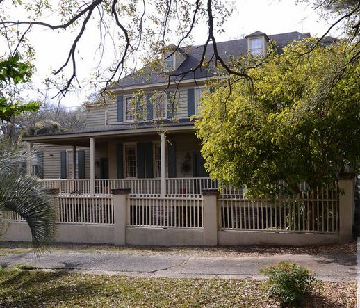 The Rainey House as it stands today.