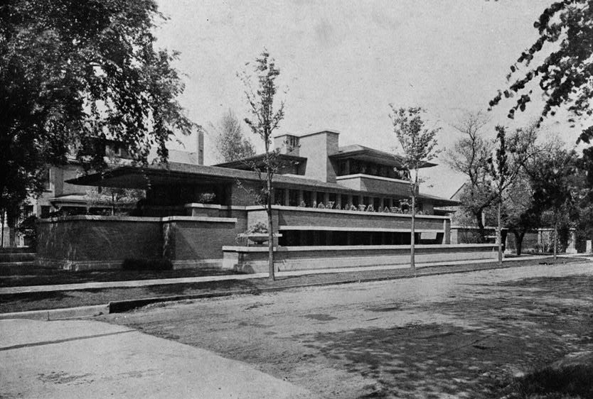 Another view of the Robie House exterior