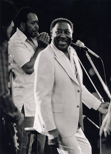 Muddy Waters, the king of Chicago Blues, in 1978