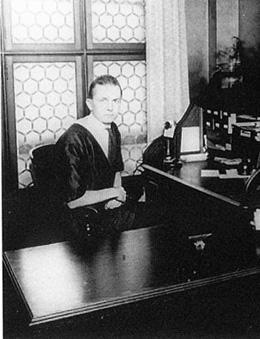 Portrait of Ellsworth Storey taken in his Seattle office