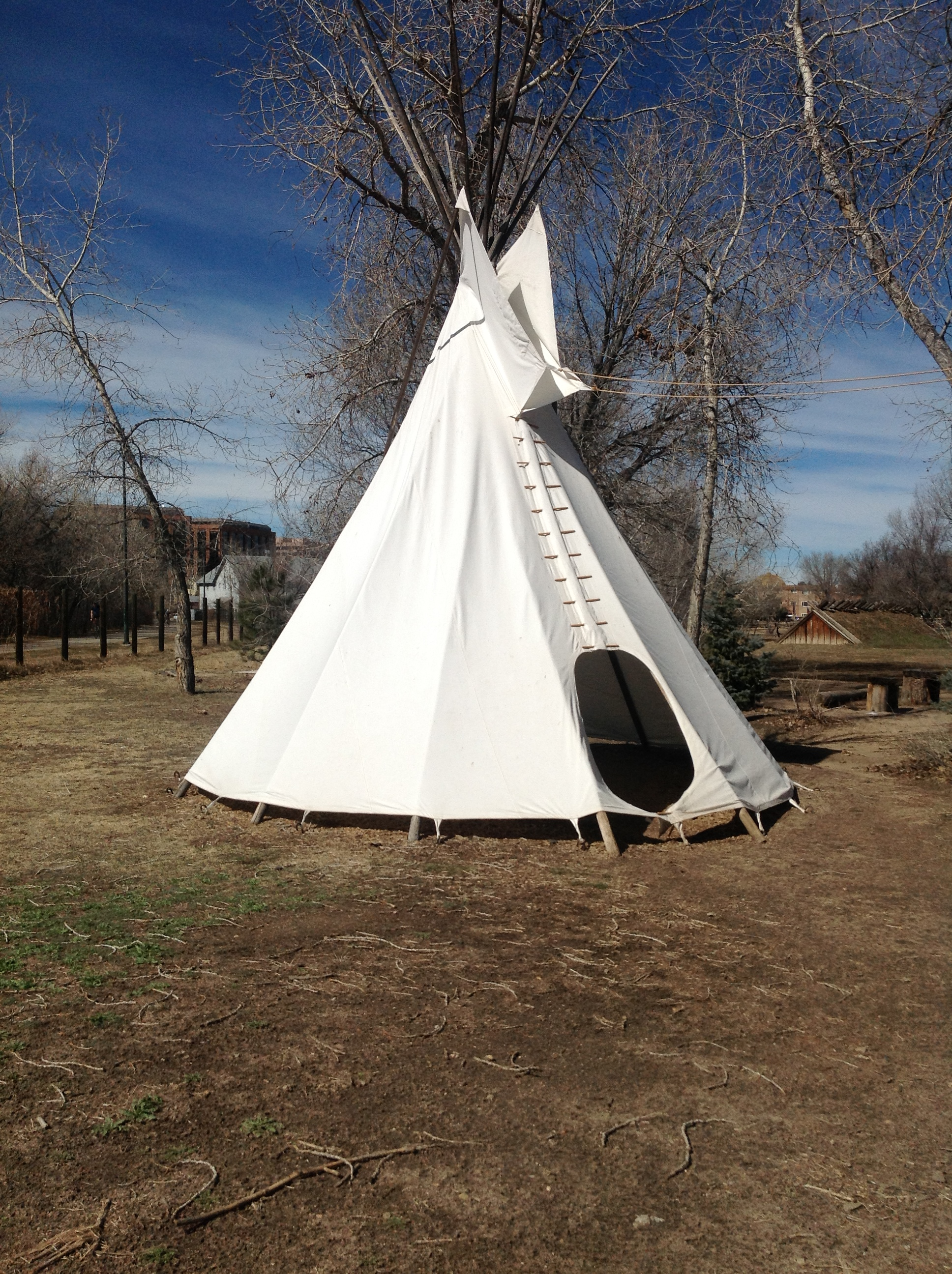 Four Mile's Tipi