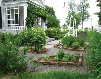The museum features a garden called the War of 1812 International Peace Garden, in which heritage plants are grown