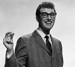 Buddy Holly in 1957