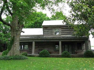An exterior view of the Buchanan House