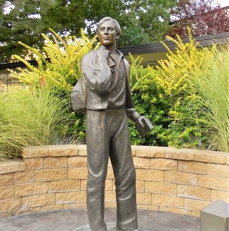 Statue of Samuel Smith at the Missionary Training Center in Provo Utah