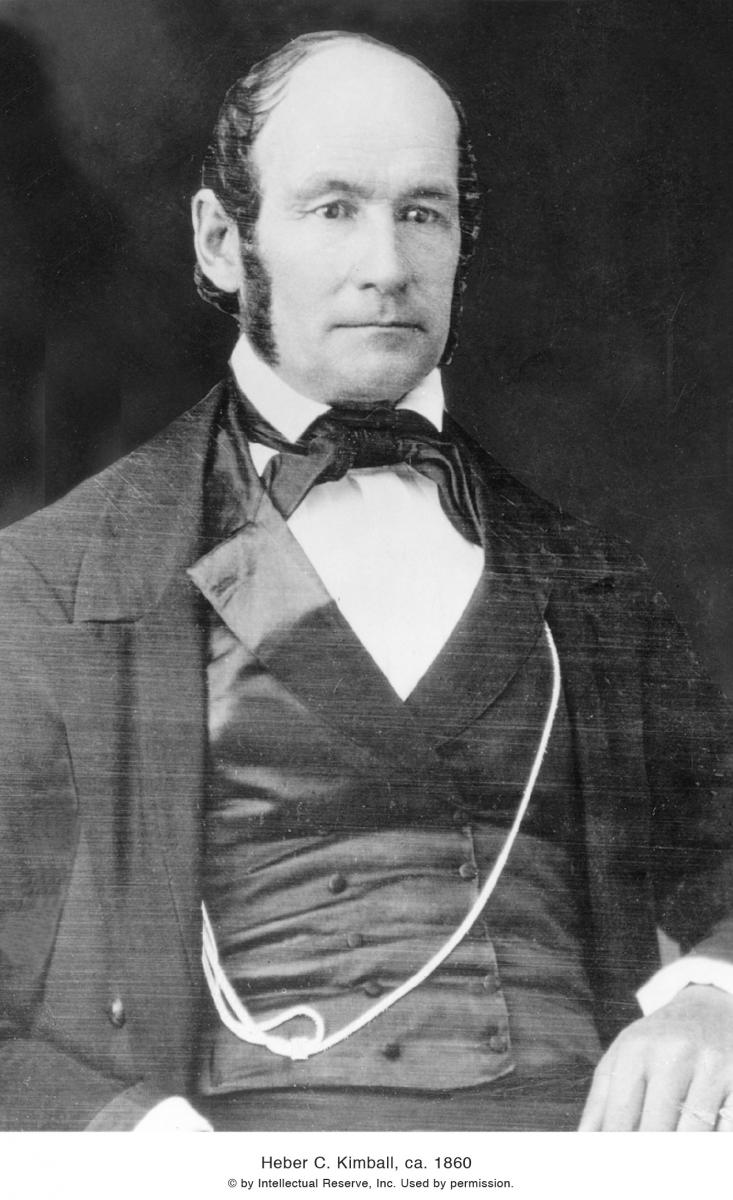 Heber C. Kimball, 1860