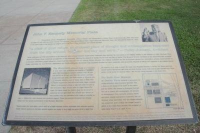 Memorial Plaza Marker