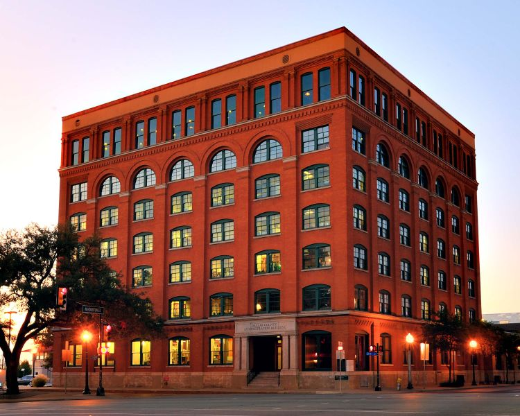 The Former Texas School Book Depository Building