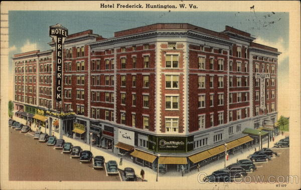The Frederick Hotel in 1946.