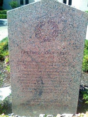 General Gregg marker