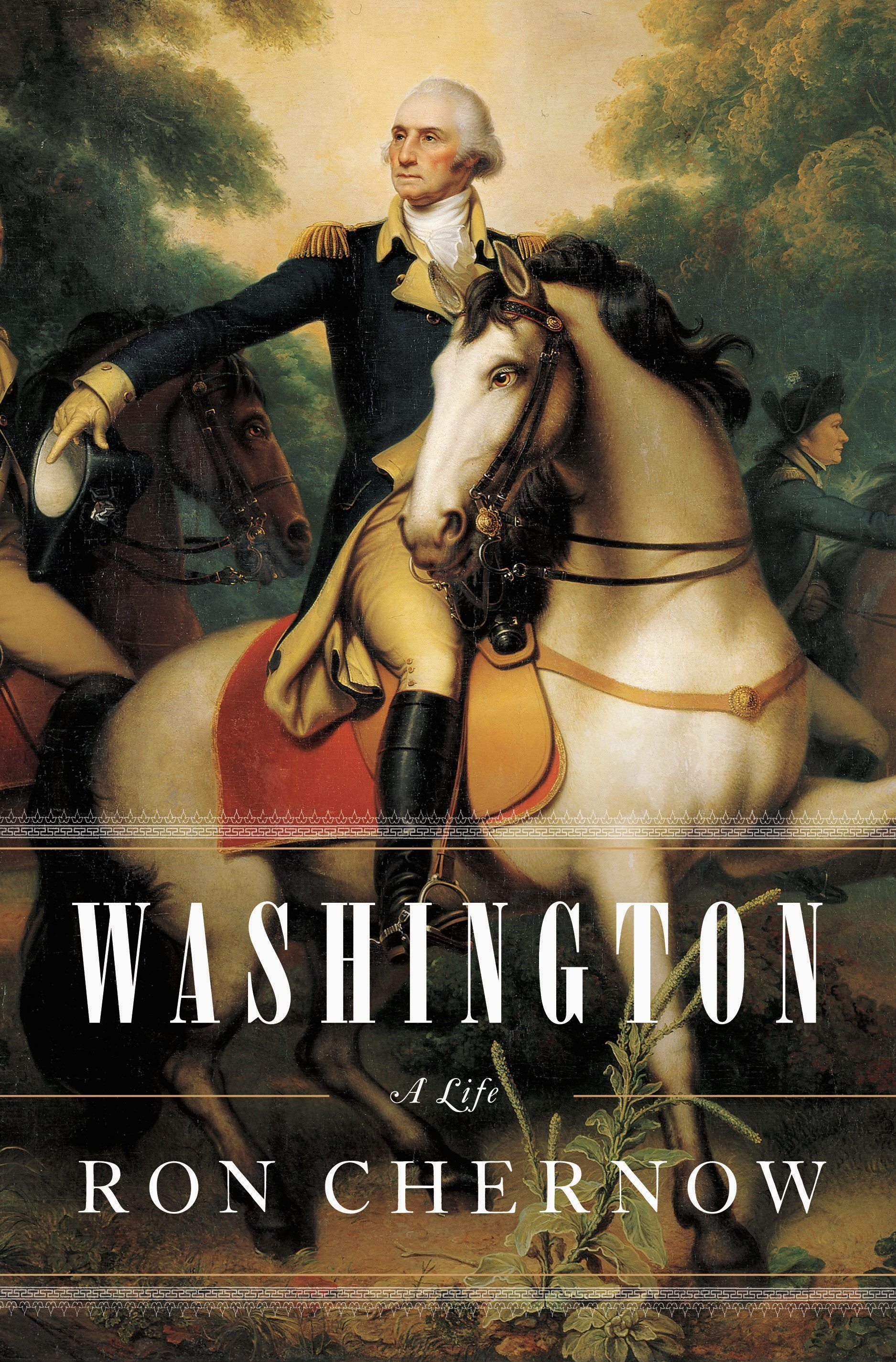 Ron Chernow, Washington: A Life. Click the link below to learn more about this Pulitzer Prize winning biography