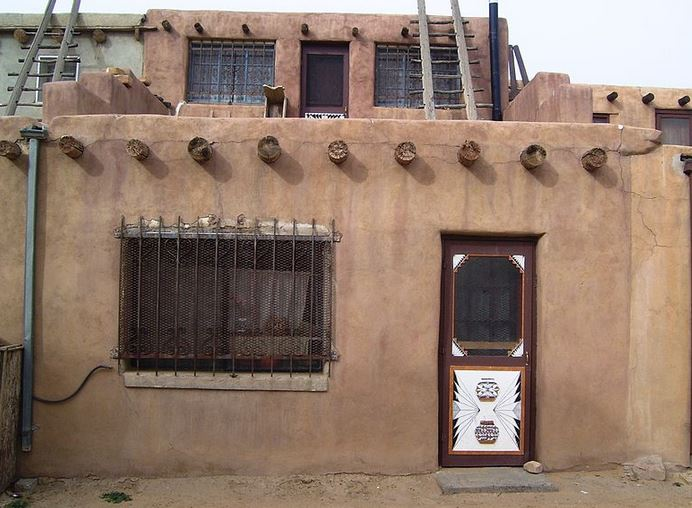 A house in the the village.