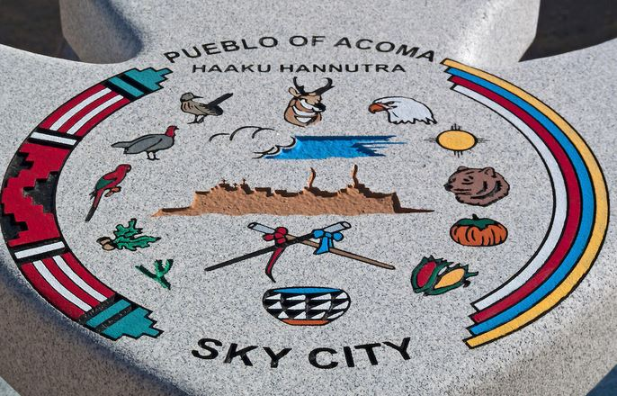 A granite monument placed at the Sun City Cultural Center.