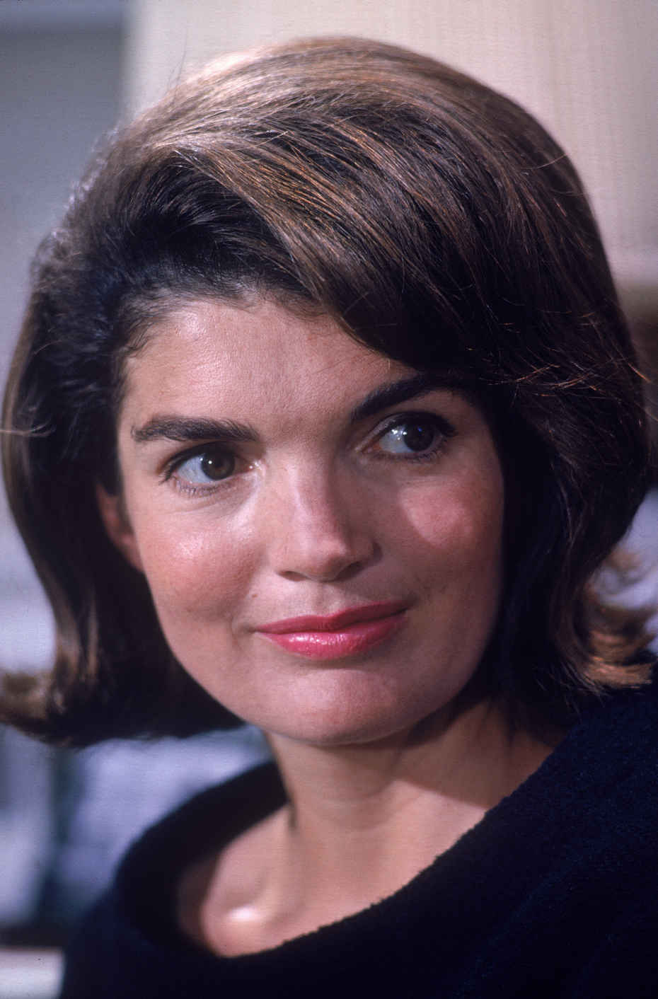 "Historian Douglas Brinkley stated, ""She epitomized elegance in the post-World War II era."" Jackie Kennedy Onassis was a national icon who was always in the public eye, even though she preferred privacy. (Courtesy of biography.com)"