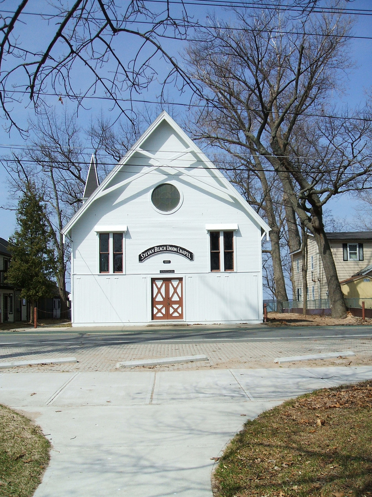 Since its construction in 1887, Sylvan Beach Union Chapel has been a non-denominational church.
