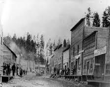 Garnet's 19th century Main Street
