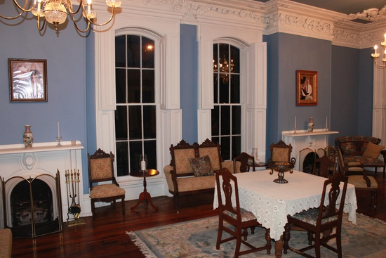 This is a photo of the grand ballroom the Powell-Redmond house boasts.
