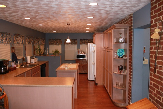 Kitchen of Powell-Redmond house. As is obvious the kitchen has been updated with modern amenities.