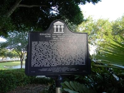 This historical marker was erected in 2006 by the Historical Society of Palm Beach