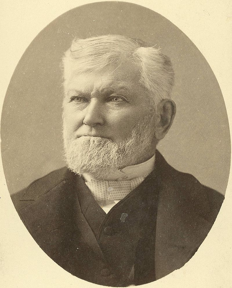 Wilford Woodruff in 1889 after becoming Prophet-President.Charles Roscoe Savage - Immediate image source: C. R. Savage collection at the L. Tom Perry Special Collections, Harold B. Lee Library, Brigham Young University