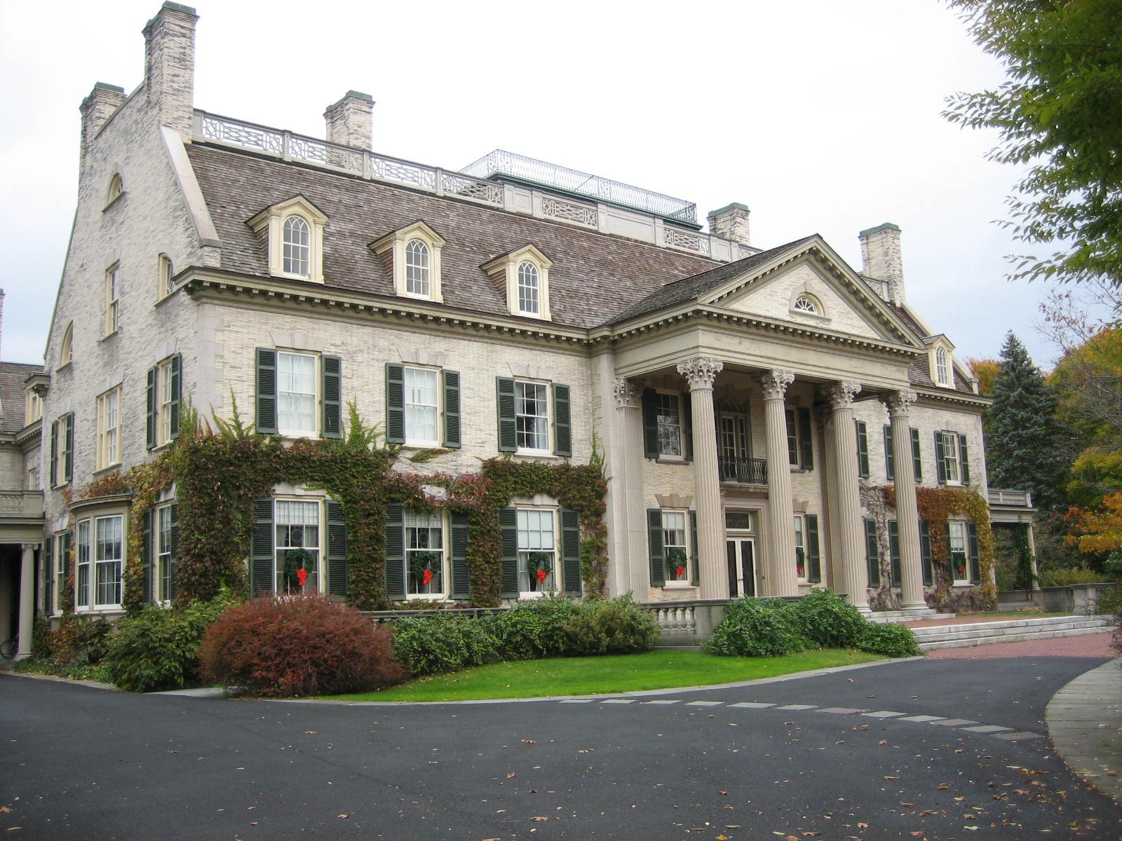 The George Eastman Mansion was built in 1905 and is a National Historic Landmark.