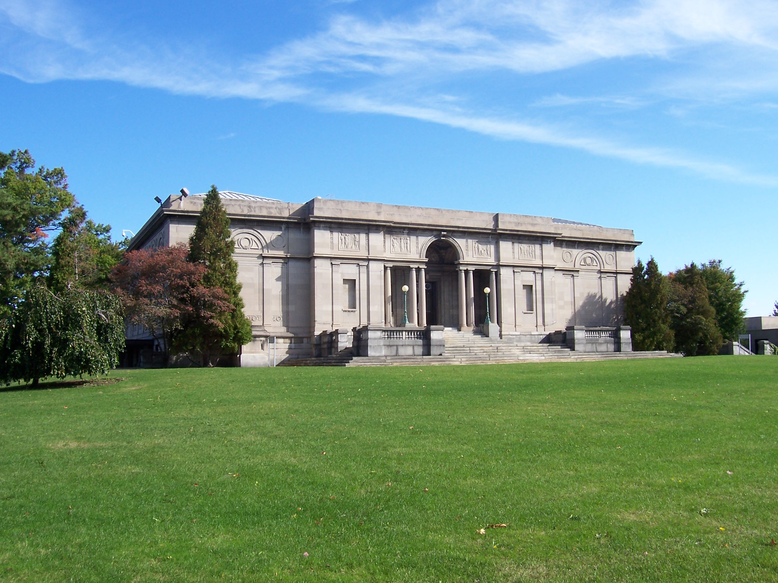 Emily Sibley Watson founded the Memorial Art Gallery in 1913 in honor of her son.