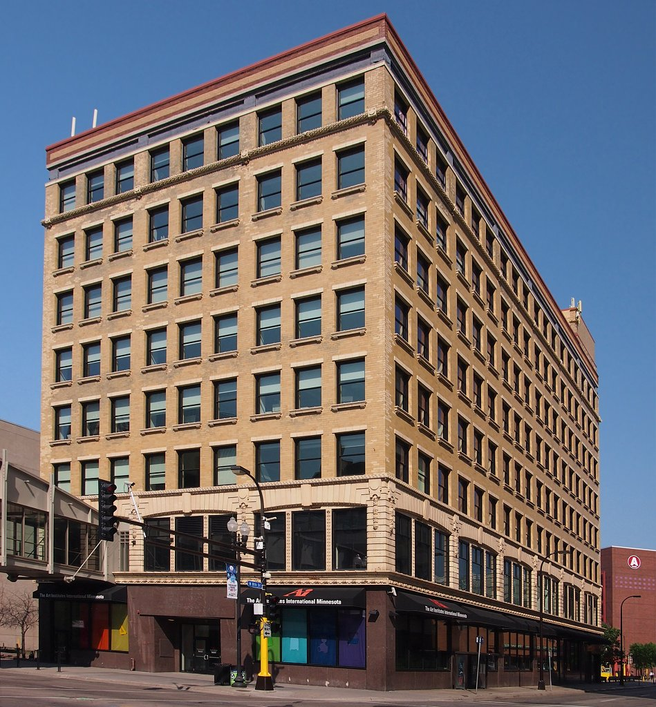 2013 photo of the historic Pence Automobile Company Building, which opened in 1909.