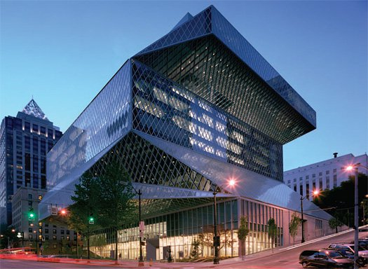 Seattle Public Library Exterior