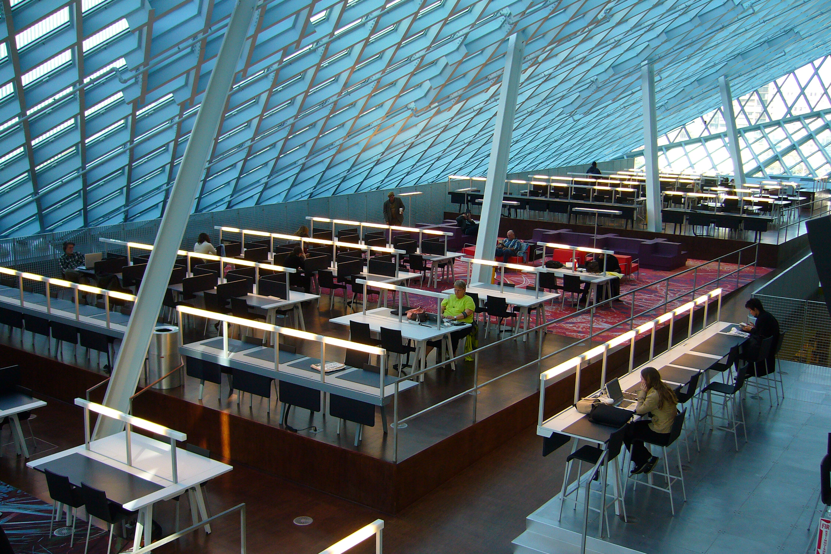 Seattle Public Library Interior