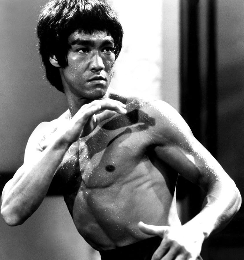 Bruce Lee Action Shot