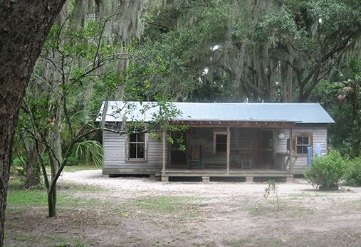 A typical tenant house that house African Americans that is on the property.